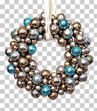 Turquoise Christmas Ornament Body Jewellery Bead PNG