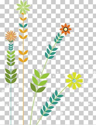 Flowers Creative Design Background PNG