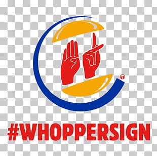 Logo The Burger King Hamburger Sign Language PNG