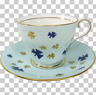 Coffee Cup Teacup Saucer PNG