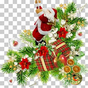 Christmas Ornament Santa Claus New Year PNG