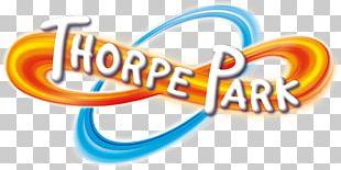 Thorpe Park Logo Brand Design PNG