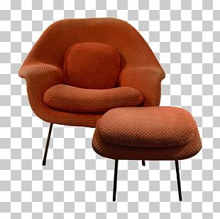Eames Lounge Chair Womb Chair Furniture Foot Rests PNG