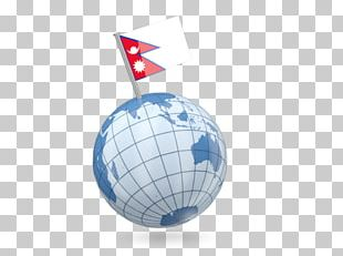 Globe Flag Of Nepal Stock Photography PNG