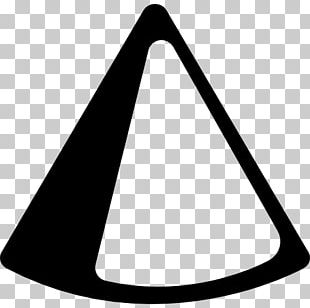 Cone Geometric Shape Geometry Triangle PNG