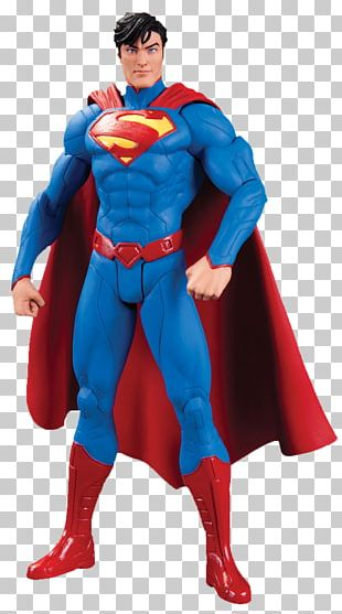 Jim Lee Superman Batman Justice League Action & Toy Figures PNG