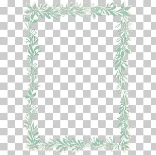 Frames Watercolor Painting PNG