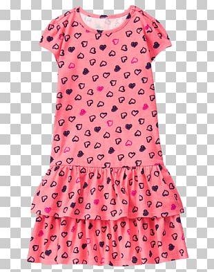Dress T-shirt Polka Dot Clothing Sleeve PNG