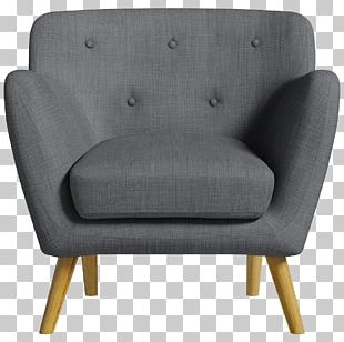 Fauteuil Scandinavia Chair Couch Foot Rests PNG