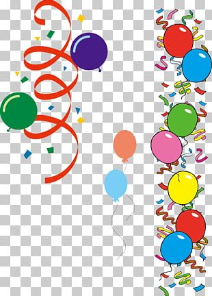 Printing And Writing Paper Birthday Stationery Balloon PNG