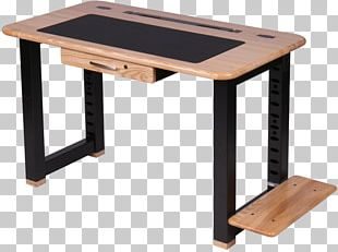 Computer Desk Standing Desk Table PNG