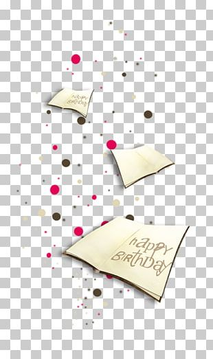 Happy Birthday To You Paper Christmas PNG