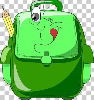 Satchel School Backpack Bag PNG