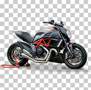 Exhaust System Car Ducati Diavel Motorcycle PNG