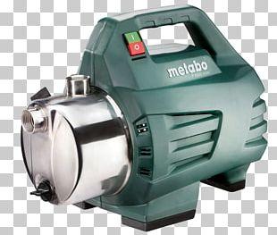 Metabo Wasserpumpe Power Tool Stainless Steel PNG