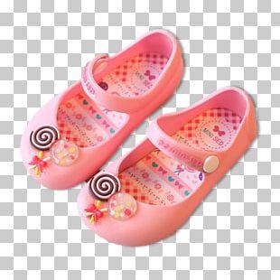 Lollipop Sandal Jelly Shoes Child PNG