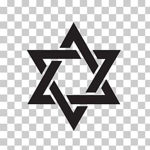 Star Of David Judaism Hexagram PNG