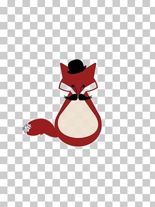 Mr. Fox Red Fox Illustration PNG