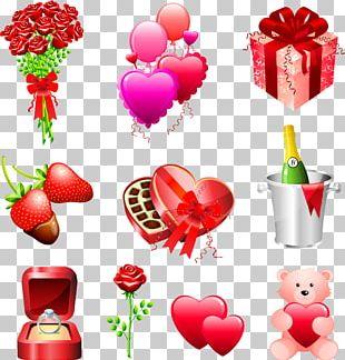 Wedding Invitation Valentine's Day Gift PNG