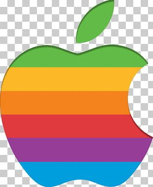 Apple Retro Logo PNG