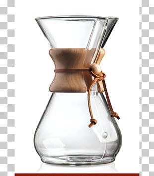 Chemex Coffeemaker Chemex Eight Cup Classic Brewed Coffee PNG