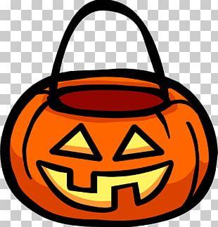 Club Penguin Halloween Basket Trick-or-treating PNG