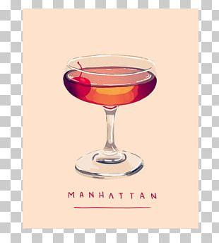 Cocktail Garnish Manhattan Wine Cocktail Rob Roy PNG