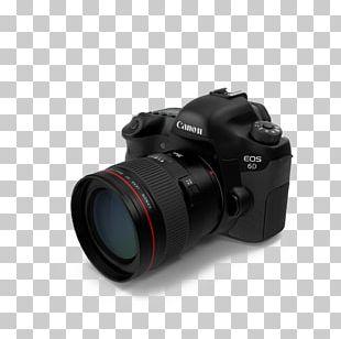 Digital SLR Photographic Film Canon EOS 6D Camera Lens PNG