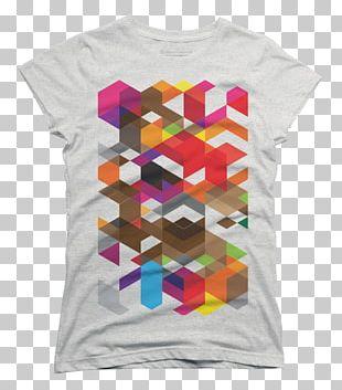 T-shirt Geometry Geometric Design Art PNG