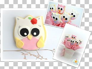 Paper Owl Pink M RTV Pink PNG