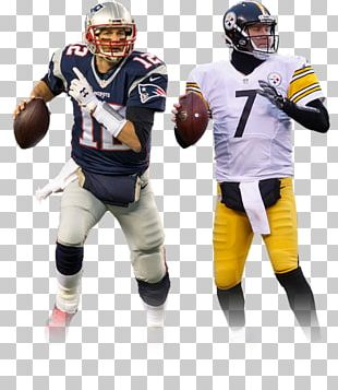 Pittsburgh Steelers New England Patriots American Football Helmets AFC Championship Game PNG
