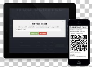 Ticket System IPhone Mobile Ticketing Digital Ticket PNG