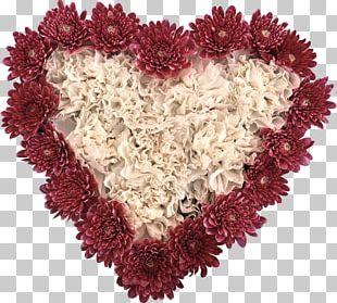 Flower Valentine's Day Heart Desktop PNG