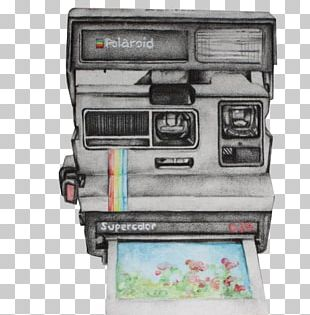Drawing Instant Camera Photography PNG