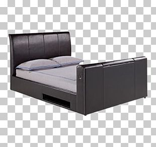 Cocoa Faux Leather (D8506) Bed Frame Mattress Furniture PNG