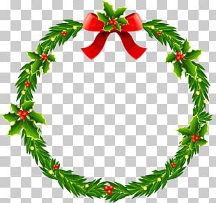 Wreath Christmas Decoration Christmas Ornament PNG