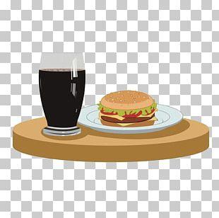 Hot Hamburger Plate Sausage Hot Dog French Fries PNG