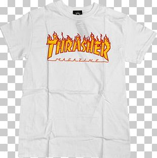 T-shirt Thrasher Presents Skate And Destroy Hoodie Clothing PNG