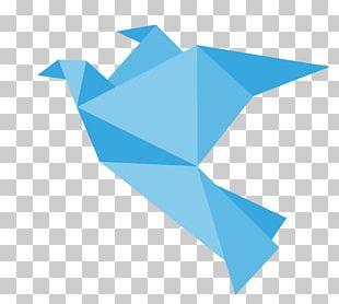 Bird Paper Crane Origami PNG