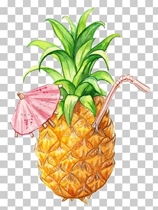 Juice Smoothie Pineapple Drawing Fruit PNG