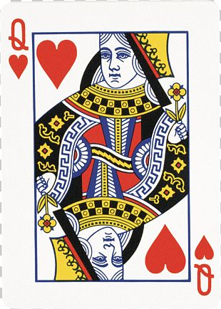 Queen Of Hearts Playing Card King PNG