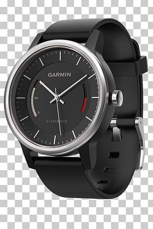 Garmin Vívomove HR Activity Monitors Garmin Ltd. Smartwatch GPS Navigation Systems PNG