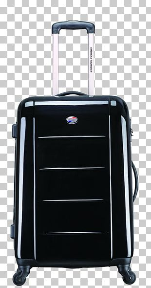 Hand Luggage American Tourister Suitcase Baggage PNG