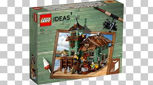 LEGO 21310 Ideas Old Fishing Store Lego Racers Lego Ideas Toy PNG