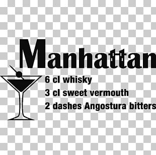 Martini Brand Logo Cocktail Glass Font PNG