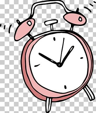 Alarm Clock Cartoon PNG