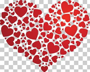 Heart Valentine's Day Love Drawing PNG