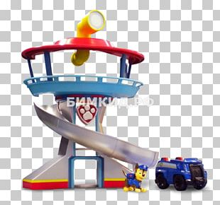 Toy Spin Master Paw Patrol Dog Paw Patrol My Size Lookout Tower Playset PNG