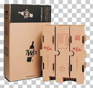 Wine Box Bottle Packaging And Labeling Cardboard PNG