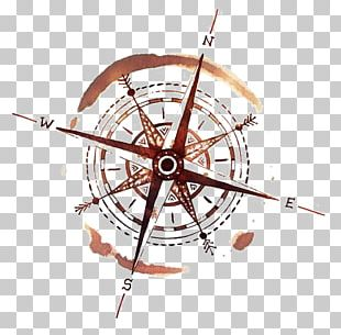 Compass Rose Tattoo Ink Wind Rose PNG